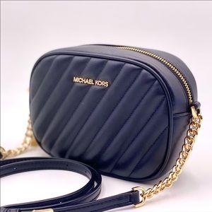 Michael Kors Small Camera Bag Black